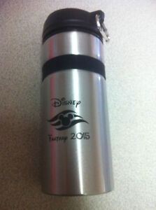 Metal Bottle - Disney Fantasy Logo Cambridge Kitchener Area image 2