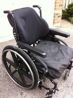 Ultralight Folding Quickie 2 Wheelchair