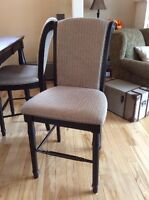 Chairs for kitchen island, bar or counter height table