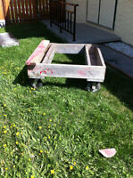 Auto Body Cart For moving Car/Truck bodies