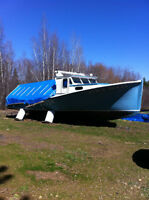 42ft Fiberglass Fishing Boat
