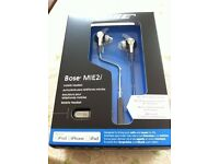 Bose MIE2i In Ear Headphones Earphones. Optimised for iOS Devices