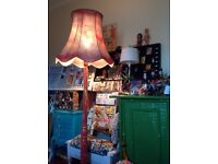 Vintage One Off Upcycled Lampstand