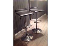 Two bar stools