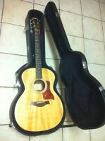 Taylor acoustic with electric pickup (Taylor 214e)