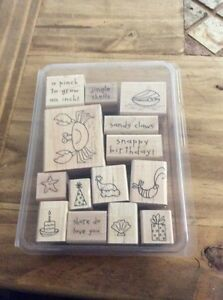 Crab and company stampin up stamp set