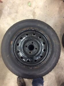 185/65/14  Cooper Winter tires and rims x 4 Stratford Kitchener Area image 4