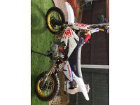 Fast stomp pit bike 160cc