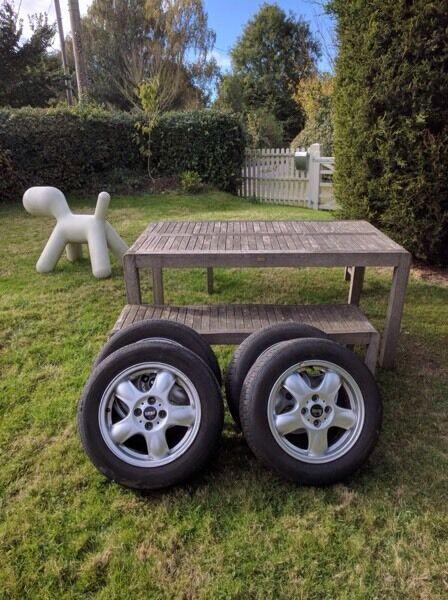 Mini clubman cooper 5 spoke 5star R55 wheels & tyres x4