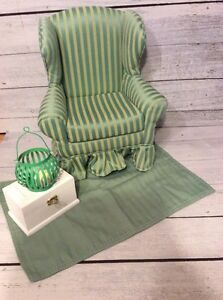 American Girl Doll Sized Armchair and Accessories