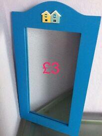 Mid-size thin mirror