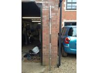 7FT Olympic Barbell with Clips