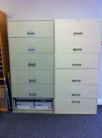 6 Drawer Filing Cabinets (2)