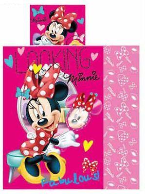 Original Disney Baby Minnie Mouse Bettwäsche 90 x 140cm Minni Maus