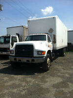 1998 FORD F800 STRAIGHT TRUCK