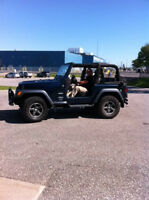 2004 Jeep TJ Columbia Convertible