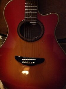 Yamaha acoustic Guitar  Kitchener / Waterloo Kitchener Area image 4