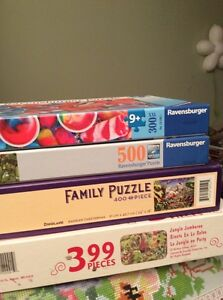 Kids and family puzzles