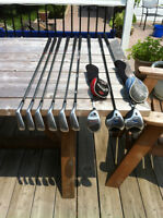 Adams Irons and Callaway Fairway woods