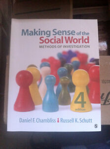 Making Sense of the Social World: Methods of Investigation Regina Regina Area image 1