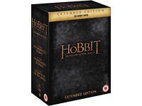 The Hobbit Trilogy Extended edition box set