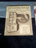 ANTIQUE WOOD WORKING BOOKS