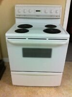 "30"" Frigidaire electric stove"