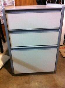 3 Drawer Pedestal cabinet with filing drawer on bottom Rochedale Brisbane South East Preview