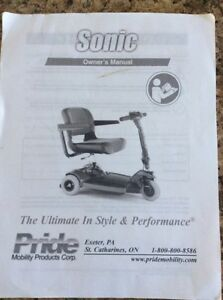 (New never used) Sonic Pride scooter and power hitch lift $1000 Kingston Kingston Area image 5