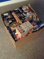 About 500 VHS Movies with VCRs