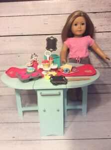American Girl Baking Table & Accessories- Perfect for Grace!