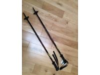 BRAND NEW and Unused Pair of High Spec Leki Ski Poles (Junior Hiking Trekking Poles)