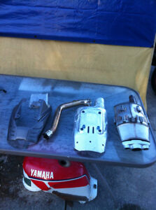 TRIUMPH DAYTONA 675 2006-08 OEM EXHAUST CAN, HEAT SHIELD & ELBOW Windsor Region Ontario image 3