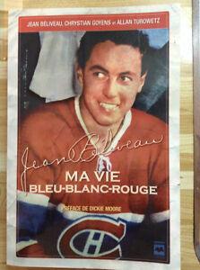 Jean Béliveau: ma vie bleu-blanc-rouge