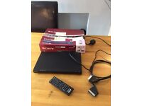 Sony DVP SR90 CD DVD Player with Remote & Scart Lead & Manual