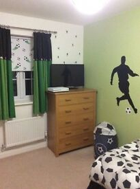 NEXT football kids bedroom bits