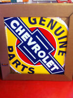LARGE 42 INCH CHEVROLET STEEL SIGN-BRAND NEW--