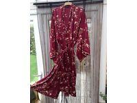 Ladies Kimono style Dressing Gown.