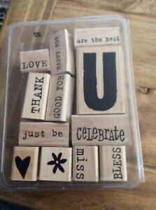 All about u stampin up stamp set
