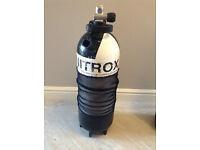 15 Litre Faber A Clamp, Dumpy Cylinder - Nitrox