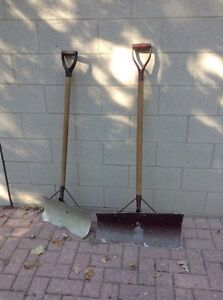 Snow shovels. But one get one free