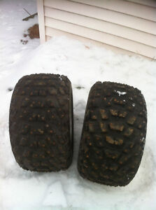 ATV 5 BOLT DID WHEELS WITH STUDDED TIRES FOR ICE Windsor Region Ontario image 5