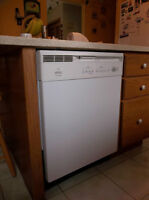 White Frigidaire built-in Dishwasher