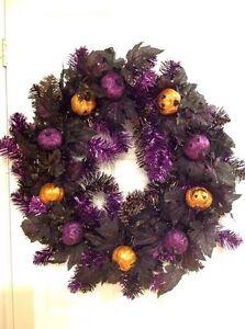 Halloween Glitter Wreath