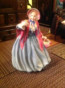 DISCONTINUED ROYAL DOULTON FIGURINE LADY CHARMAIN HN 1948