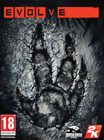 Evolve PC game new + case