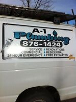 A-1 plumbing / heating grande prairie -10% off parts mention ad