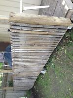 Wood & pickets for porch or a deck $70