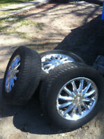 Chrysler rims and tires, $150.00 for set of 4