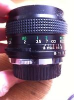 Wide angle lens fits Olympus camera